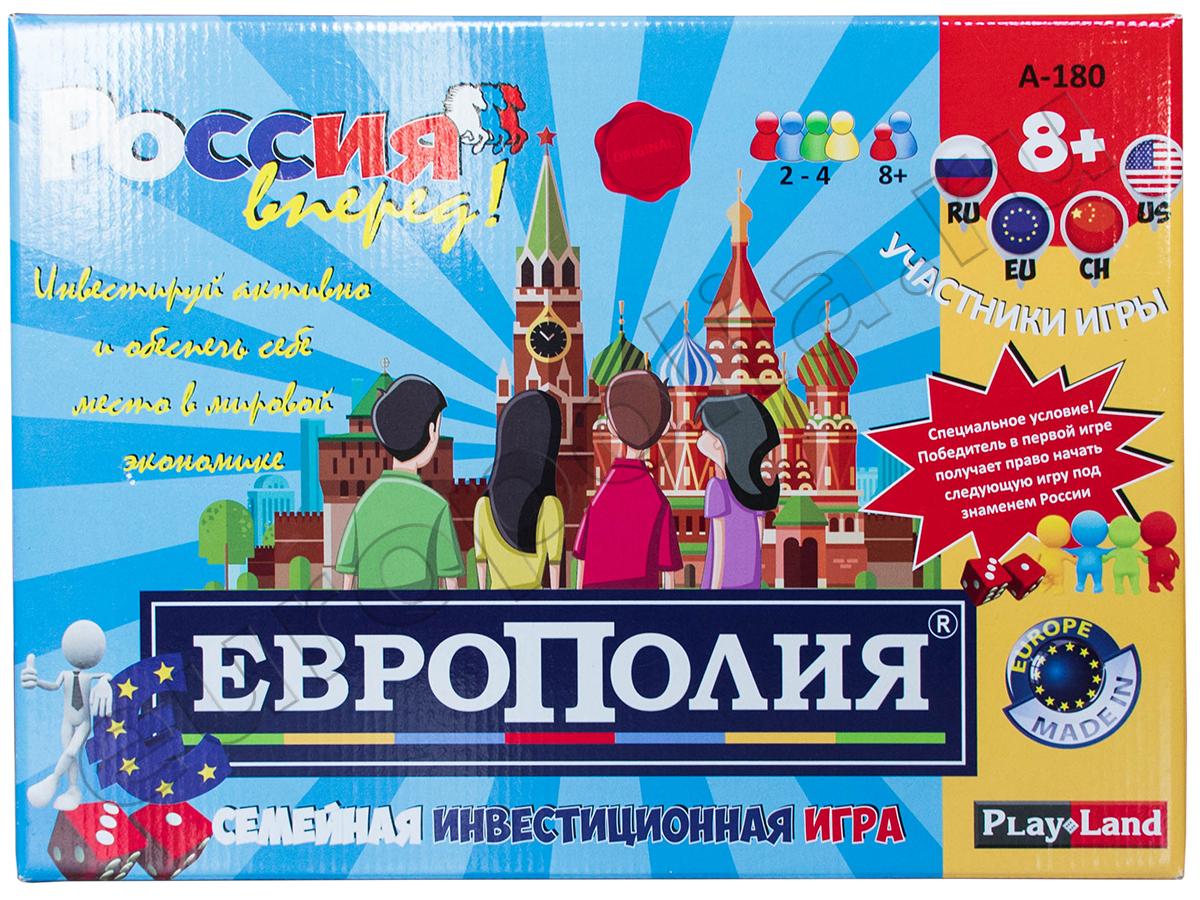 Семейная инвестиционная игра Европолия 43533 А-180